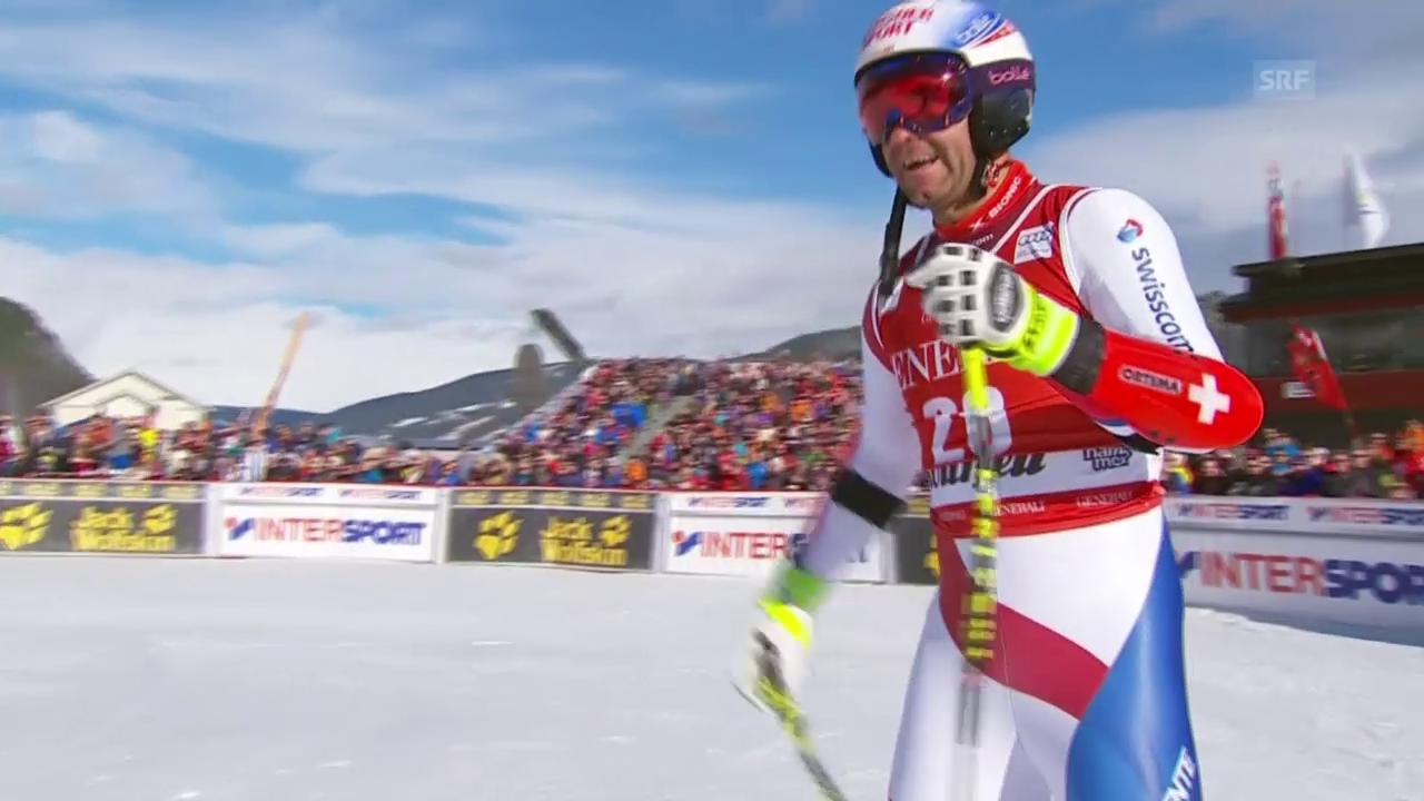 Ski alpin: Weltcup der Männer, Super-G in Kvitfjell, Didier Défago