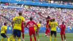 Video «Vor dem Halbfinal England-Kroatien» abspielen