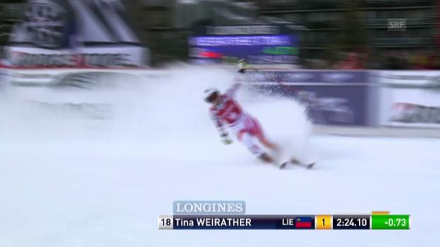 Video «Ski: Riesenslalom Frauen Val d'Isère, Rennbericht («sportlive, 22.12.2013»)» abspielen