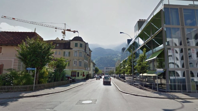 Top Asphalt oder Stein - Wieviel darf die Bahnhofstrasse in Landquart OC47