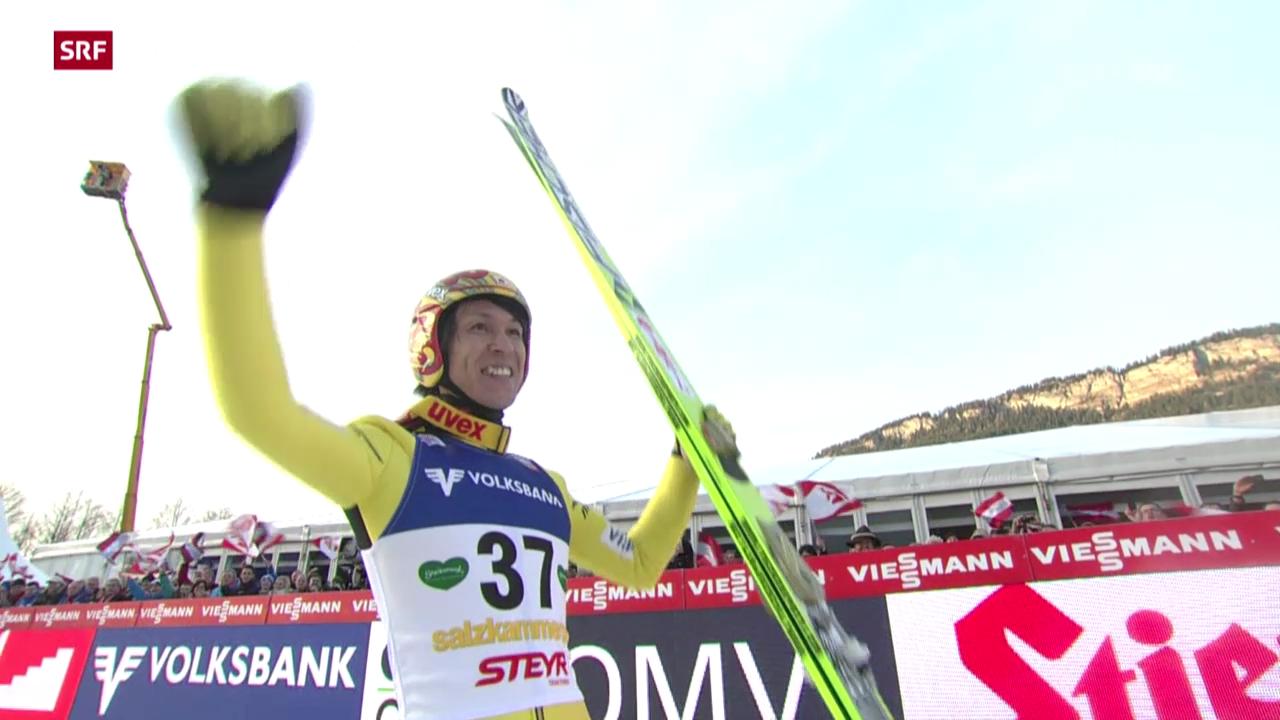 Weltcup in Bad Mitterndorf («sportaktuell», 11.01.14)