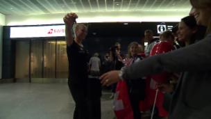 Video «Ryf hat die Reisestrapazen hinter sich» abspielen