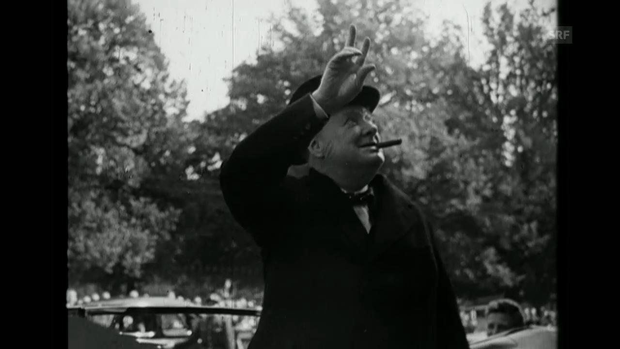 «Churchill beim IKRK», Schweizer Filmwochenschau, 20.9.1946