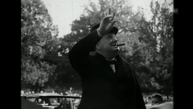 Video ««Churchill beim IKRK», Schweizer Filmwochenschau, 20.9.1946» abspielen