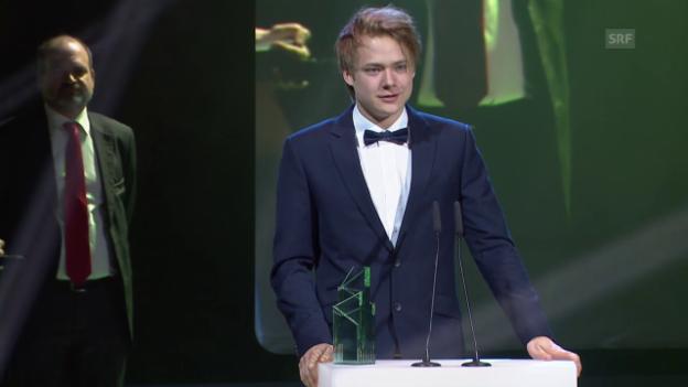 Video «Bester Hauptdarsteller: Sven Schelker («Der Kreis»)» abspielen