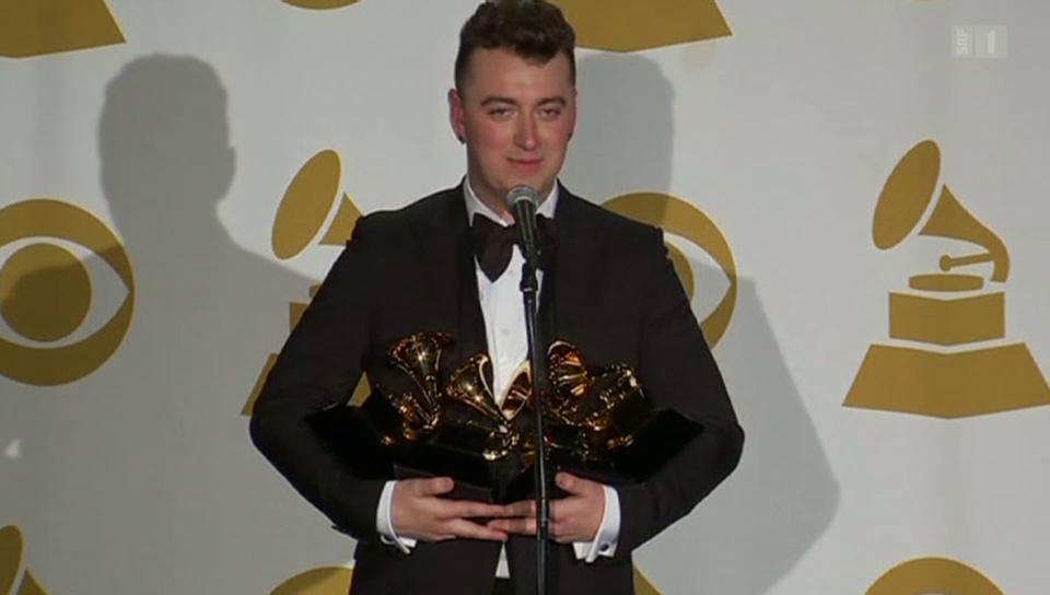 Der wichtigste Musikpreis der Welt: Sam Smith dominiert Grammys