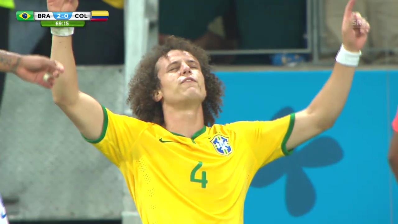 FIFA WM 2014: Die WM-Tore von David Luiz