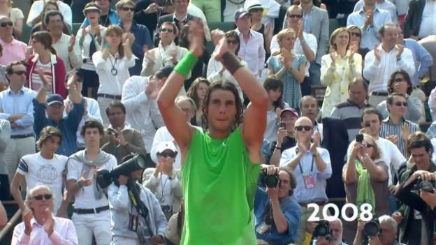Video «10 Finals, 10 Titel: Nadals Triumphzug in Paris» abspielen