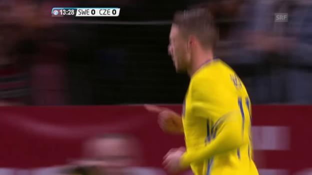 Video «Schweden-Tschechien 1:1 (sntv)» abspielen