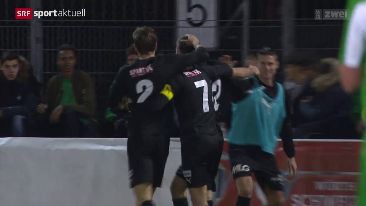 Fussball: Cup, Achtelfinals Red Star - Köniz