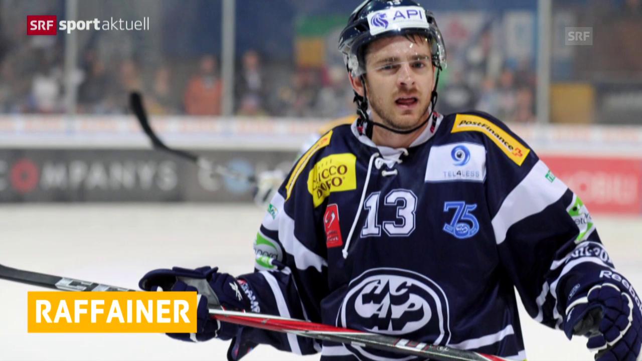 Eishockey: Neue Funktion für Raeto Raffainer («sportaktuell», 21.01.2015)