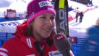 Video «Ski alpin: WM 2015 in Vail/Beaver Creek, Riesenslalom Frauen 1. Lauf, Interview mit Wendy Holdener» abspielen