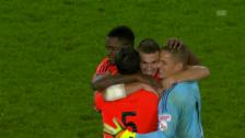 Video «Schlusslicht Lausanne feiert in Basel ersten Saisonsieg» abspielen