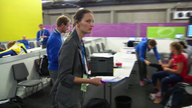 Video «Melanie Dumière, Schiedsrichterin Callroom» abspielen