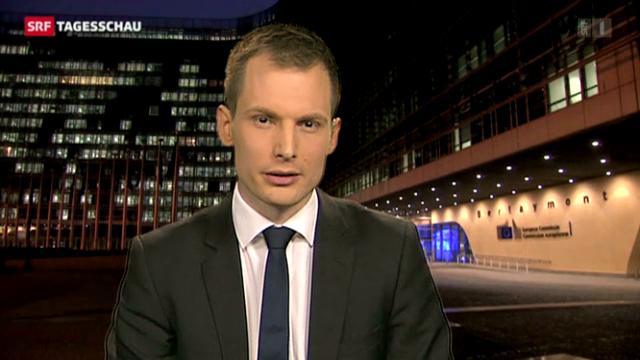 Analyse von SRF-Korrespondent Jonas Projer, Brüssel