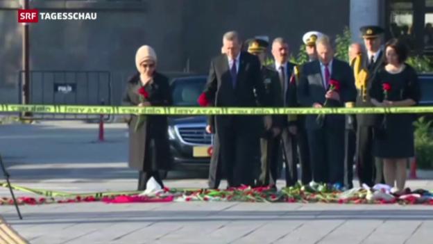 Video «Offenbar IS oder PKK hinter Attentat in Ankara» abspielen