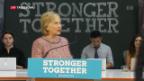 Video «Keinen Grund für Anklage gegen Hillary Clinton» abspielen