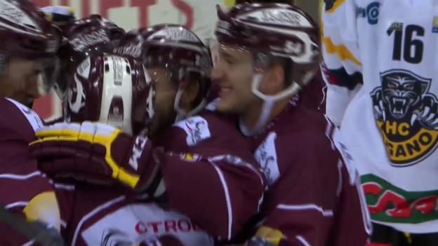 Video «Lugano-Genf: Schöne Tore aus der Regular Season» abspielen