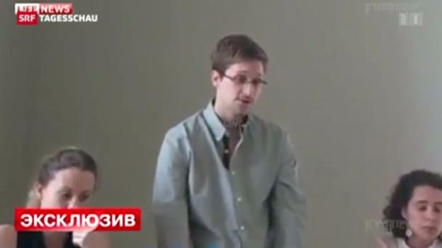 Video «Machtspiel um Snowden» abspielen