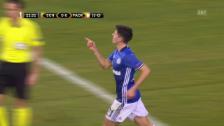 Link öffnet eine Lightbox. Video Highlights Schalke - Paok abspielen