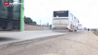 Video «Türkei befürchtet weitere Flüchtlinge» abspielen