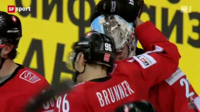 Eishockey-WM: Schweiz - Kasachstan