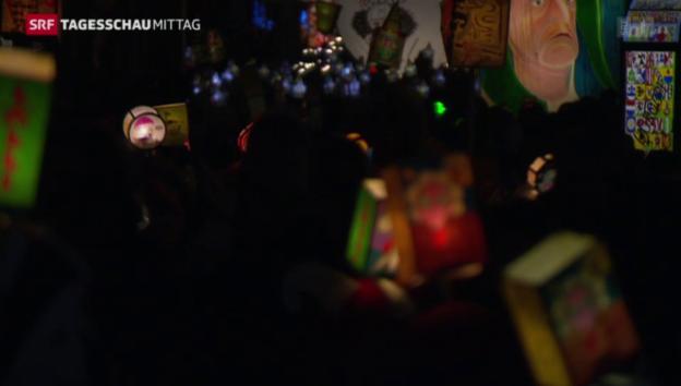Video «Basler Fasnacht soll Welt-Kulturerbe werden» abspielen