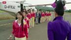 Video «In «Win Win» verschönern chinesische Missen den Jura» abspielen