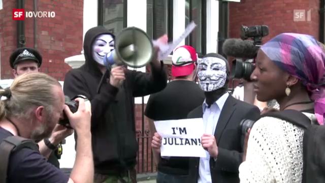 Ecuador nimmt Assange auf