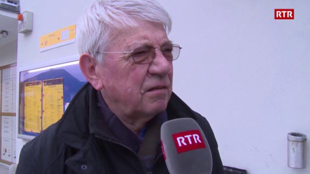 Laschar ir video «Sep Antoni Curschellas, Glion»