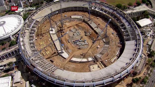 Video «Mythos Maracanã – ein Stadion schreibt Geschichte» abspielen