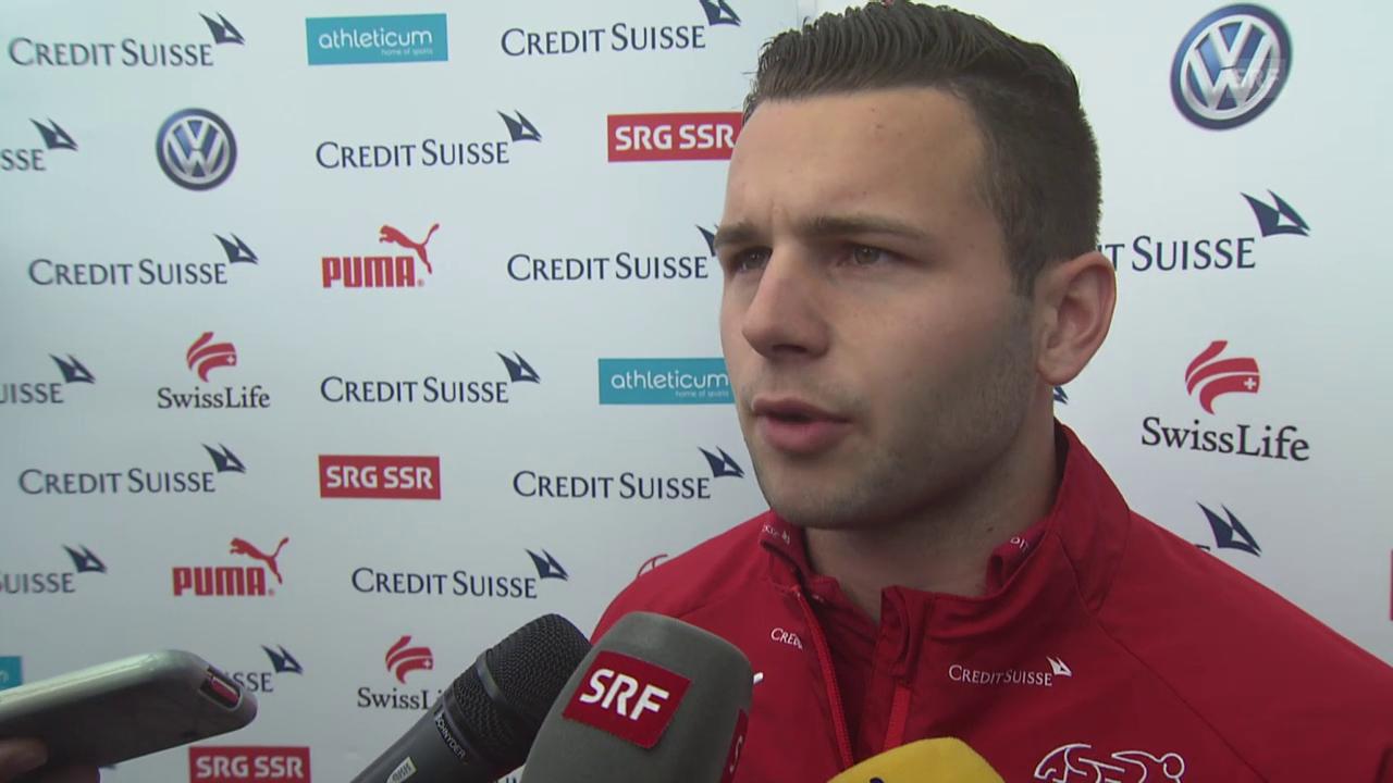 Fussball: Nati, Renato Steffen beim Nati-Zusammenzug
