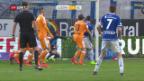 Video «Glückhafter Punkt für GC in Luzern» abspielen