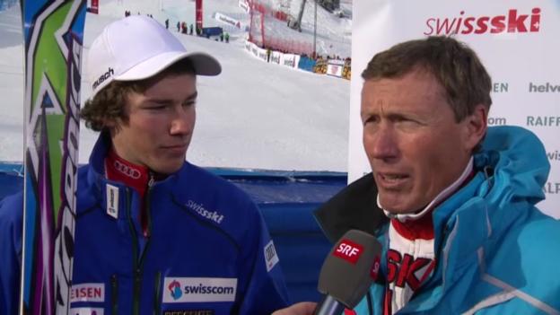 Video «Interview mit Primin und Elia Zurbriggen» abspielen