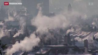 Video «Schweiz fällt beim Klima-Länderrating weiter zurück» abspielen