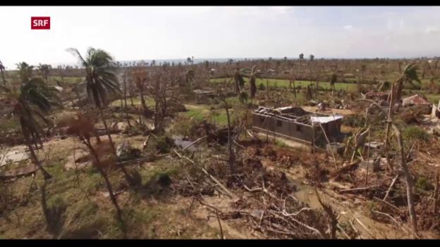 Video «UNO warnt vor humanitärer Katastrophe» abspielen