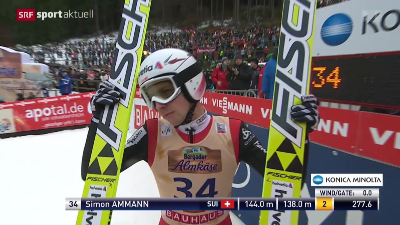 Skispringen: Weltcup in Titisee-Neustadt