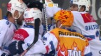Video «Die ZSC Lions siegen im Penaltyschiessen» abspielen