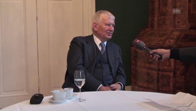 Video «Otto Schily zu den Gefahren für einen Staat» abspielen