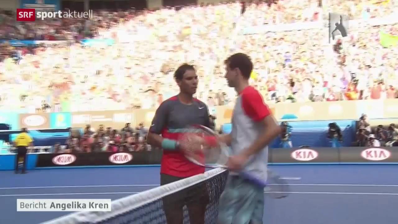 Tennis: Australian Open, Nadal - Dimitrov