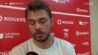 Video «Tennis: ATP 1000 Toronto, Wawrinka - Anderson» abspielen