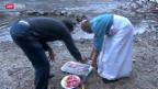 Video «Die Reuss als heiliger Fluss Ganges» abspielen