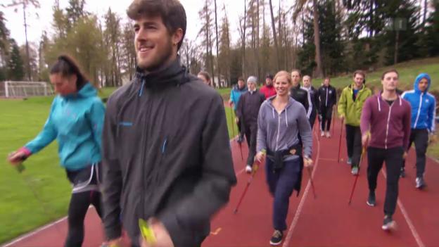 Video «Nordic Walking, aber richtig» abspielen