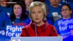 Video «Clinton und Trump triumphieren – Bush steigt aus» abspielen