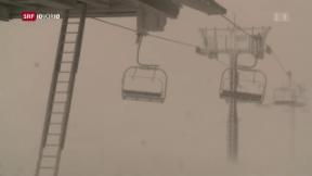 Video «Ein Sturm folgt dem nächsten» abspielen