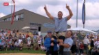 Video «Schwingen: Appenzeller Kantonalschwingfest in Waldstatt» abspielen