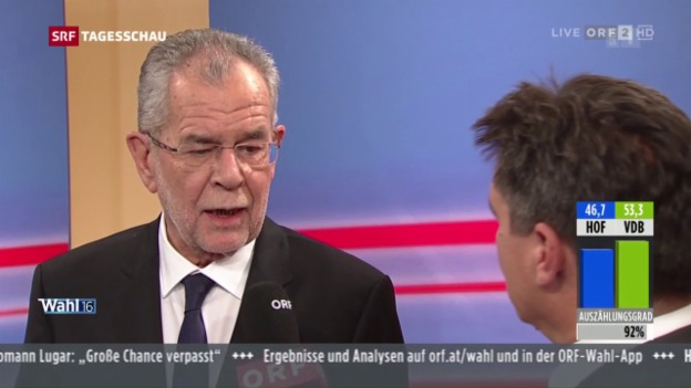 Video «Der neue Bundespräsident in Österreich» abspielen