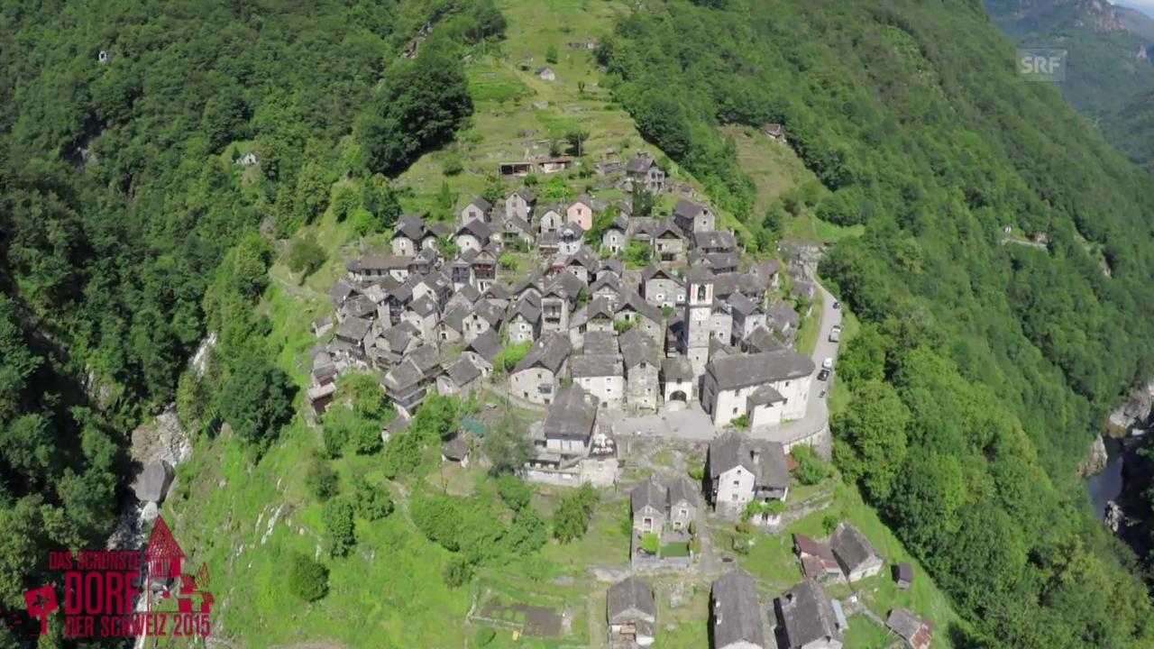 Wird Corippo das schönste Dorf der Schweiz 2015?