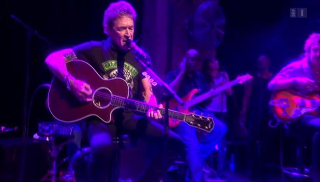 Video «Rockig: Peter Maffay in Zürich» abspielen