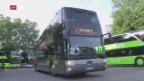 Video «Verhärtete Fronten im Fernbus-Streit» abspielen